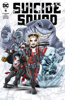 Suicide Squad #5 Ryan Kincaid Chibi SIGNED Cover A Var (7/7/21)