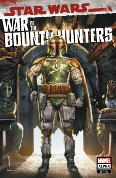 Star Wars War of the Bounty Hunters Alpha #1 Mico Suayan Cover A Variant