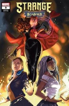 Strange Academy #9 Taurin Clarke Cover A Variant