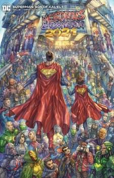 Superman Son of Kal El #1 AlanQuah Cover B Variant (7/27/21)
