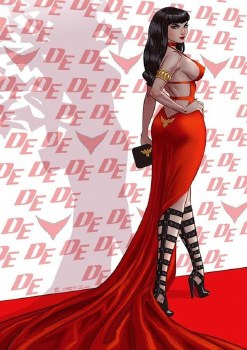 Vampirella #21 Richard Ortiz Virgin Variant w/COA