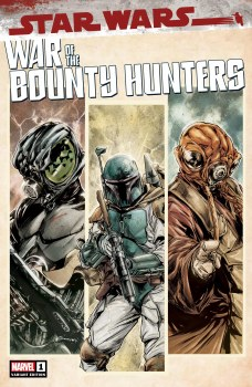 War of the Bounty Hunters #1 Paolo Villanelli Cover A Var