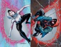 Amazing Spider-Man #59 & Miles Morales #23 Connecting Virgin Variant Set