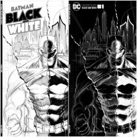 Batman Black and White #1 Tyler Kirkham Cover Bundle