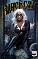 Black Cat #1 Ryan Brown CoverA Variant