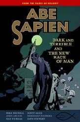 Abe Sapien Tp Vol 03 Dark Terrible New Race Man