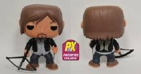 Pop Walking Dead Biker Daryl Px Vinyl Fig Bloody Ver (C: 1-1