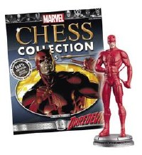 Marvel Chess Fig Coll Mag #5 Daredevil White Pawn (C: 0-1-2)