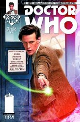 Doctor Who 11th #9 Subscription Photo