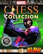 Marvel Chess Fig Coll Mag #31 Klaw Black Pawn (C: 0-1-2)