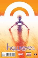 All New Hawkeye #1 Perez 2nd Ptg Var