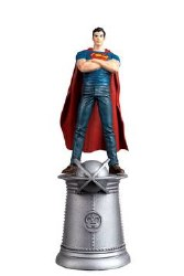 Dc Superhero Chess Fig Coll Mag #96 Young Superman White Kin