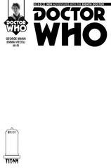 Doctor Who 8th #1 (Of 5) Blank Sketch Var