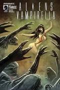 Aliens Vampirella #3 (Of 6) Cvr A Hardman