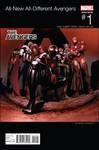 All New All Different Avengers #1 Cheung Hip Hop Var