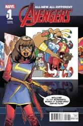 All New All Different Avengers Annual #1 Asrar Fosgitt Var