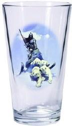 Frazetta Silver Warrior Huntress Pint Glass Set