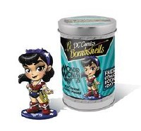 Fcbd Dc Lil Bombshells Wonder Woman 75th Ann Vinyl Fig (Net)