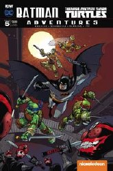 Batman Tmnt Adventures #5 (Of 6) Subscription Var