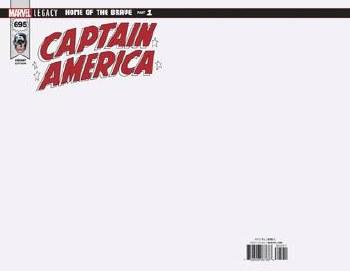 Captain America #695 Blank Var Leg