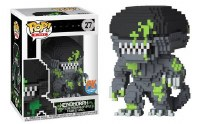 Pop Horror 8-Bit Alien Blood Splattered Px Vinyl Figure (C: