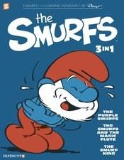 Smurfs 3in1 Gn Vol 01