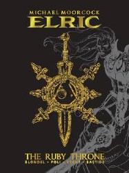 Elric Ruby Throne Dlx Ed Hc