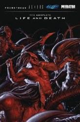 Aliens Predator Prometheus Avp Complete Life Death Hc