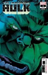 Immortal Hulk #1 3rd Ptg Bennett Var