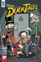 Ducktales #20 Cvr A Disney (C: 1-0-0)