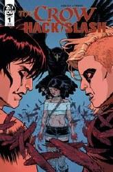 Crow Hack Slash #1 10 Copy Incv Isaacs (Net)