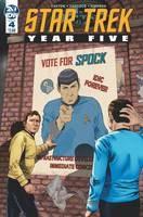 Star Trek Year Five #4 Cvr A Thompson