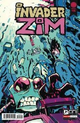 Invader Zim #45 Cvr B Cab (C: 1-0-0)
