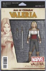 Age Of Conan Valeria #1 (Of 5) Christopher Action Figure Var