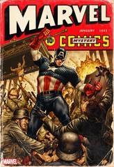 Marvel Comics #1000 Brooks 40sVar