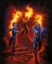 Marvel Comics #1000 Hildebrandt Var