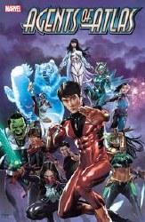 Agents Of Atlas #1 (Of 5) Suayan Var