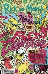 Rick And Morty Present Flesh Curtains #1 Cvr B Enger