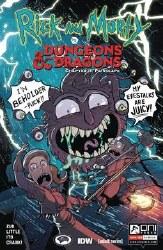 Rick & Morty Vs D&D Ii Painscape #1 Cvr B Zub (Mr)