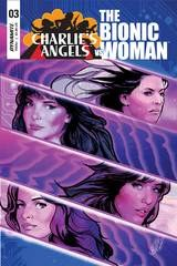 Charlies Angels Vs Bionic Woman #3 Cvr A Staggs