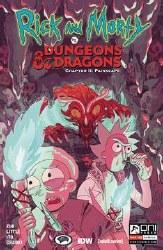Rick & Morty Vs D&D Ii Painscape #2 Cvr B Goux (Mr)
