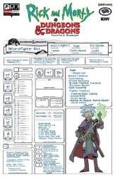 Rick & Morty Vs D&D Ii Painscape #2 Cvr C Look Character She