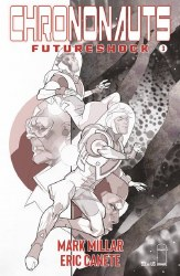 Chrononauts Futureshock #3 (Of 4) Cvr B B&W Ferry (Mr)