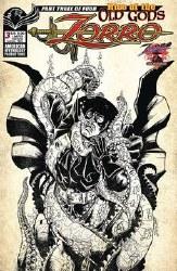 Zorro Rise Of The Old Gods #3 Cvr B Ltd Ed Pulp