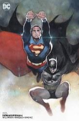 Batman Superman #4 Card Stock Var Ed Yotv