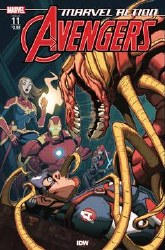 Marvel Action Avengers #11 Fiorito (C: 1-0-0)