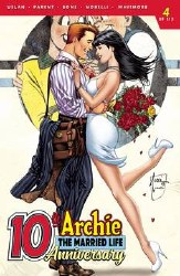 Archie Married Life 10 Years Later #4 Cvr C Tucci