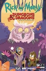 Rick & Morty Vs D&D Ii Painscape #3 Cvr B Allant (Mr)