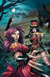 Van Helsing Vs Draculas Daughter #5 (Of 5) Cvr B Coccolo