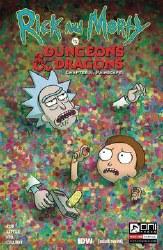 Rick & Morty Vs D&D Ii Painscape #4 Cvr B Wells